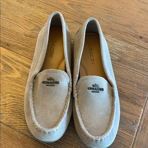 Coach suede Loafers size 6B.